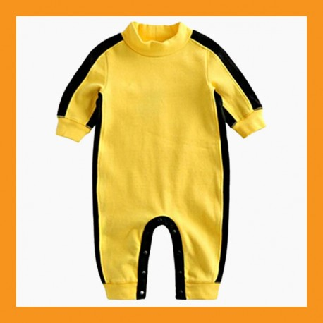 baby jumpsuit boy girl toddler Kung Fu romper union suit onesie bodysuit 6 size