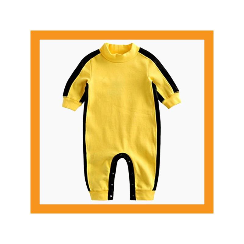 Baby Jumpsuit Boy Girl Toddler Kung Fu Romper Union Suit Onesie