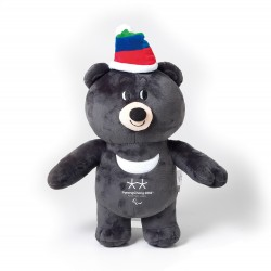 2018 Winter Olympic Merchandise 30cm Paralympics Mascot Bandabi Doll Bear Gift