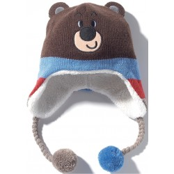 2018 Winter Olympic Merchandise Paralympic Mascot Bandabi Kid Woolly Hat Apparel