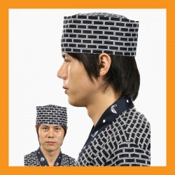 brick chef hat restaurant bar hotel uniform size adjustable clothing cook kitchen men women