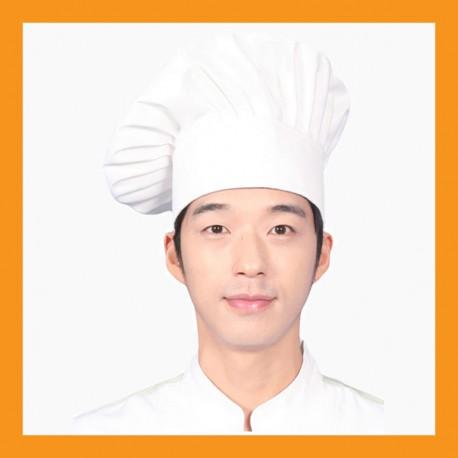 snap chef beret hat restaurant bar hotel uniform size adjustable clothing cook kitchen