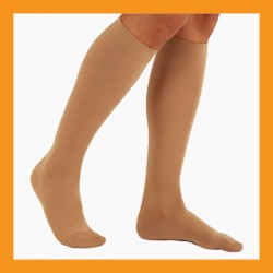280D high compression stockings support hose knee varicose veins medical 25~35mmHg