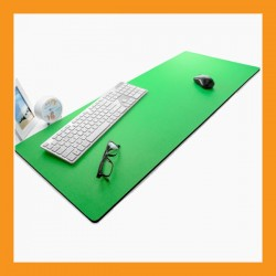 green extra large mouse pad neoprene desk mat 6mm computer notebook keyboard accessory